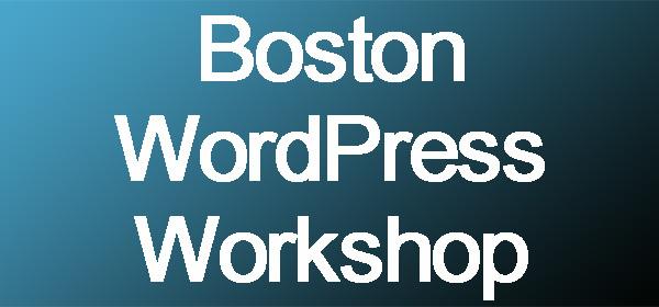 Boston Workshop