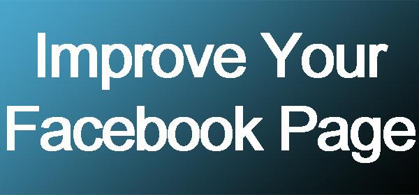 Improve fb page