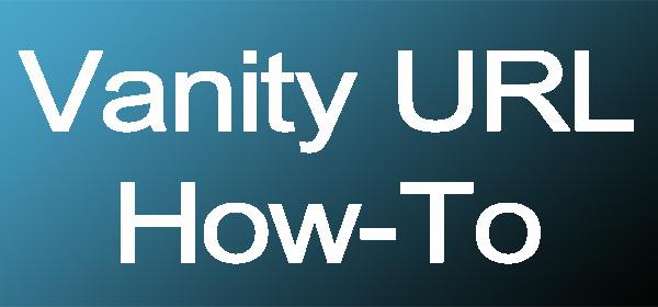 Vanity URL